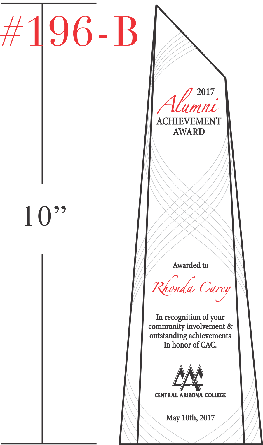 Annual Alumni Achievement Award