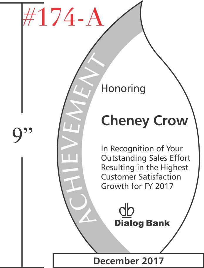 Employee Achievement Recognition Award