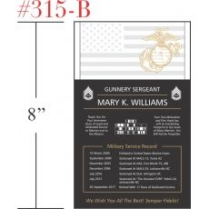 Marine Sergeant Retirement Gift