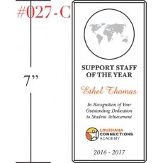 Award for Support Staff of the Year