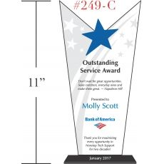 Outstanding Associate Recognition Plaque