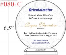 Company President Recognition Award