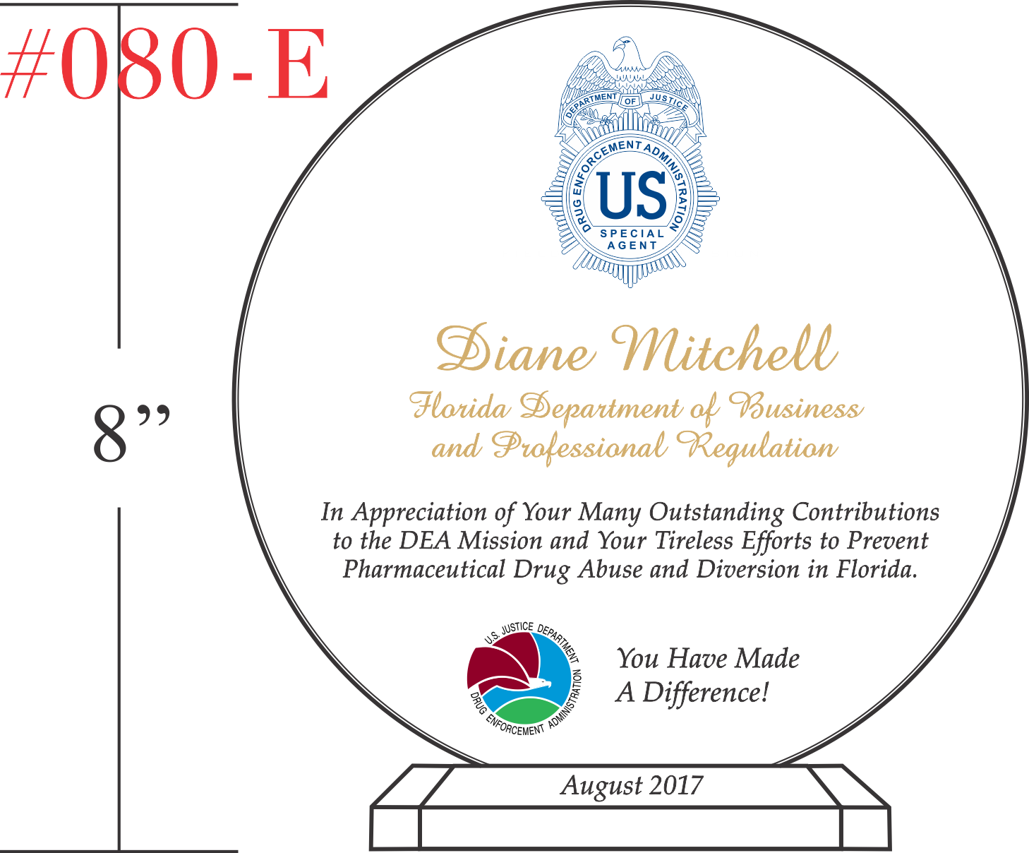 award for outstanding contributions