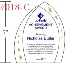 Professional Achievement Award Wording Sample by Crystal Central – Achievement Award Wording