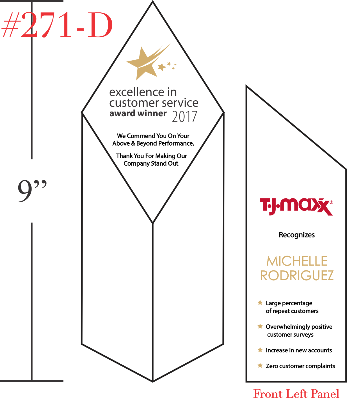 Excellence In Customer Service Award Winner