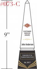 Customer Service Award Sample