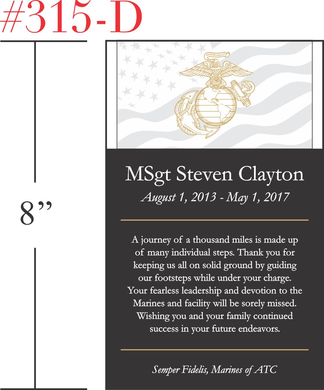 Retirement Gift for US Marine