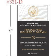 Appreciation Gift for Navy Sponsor