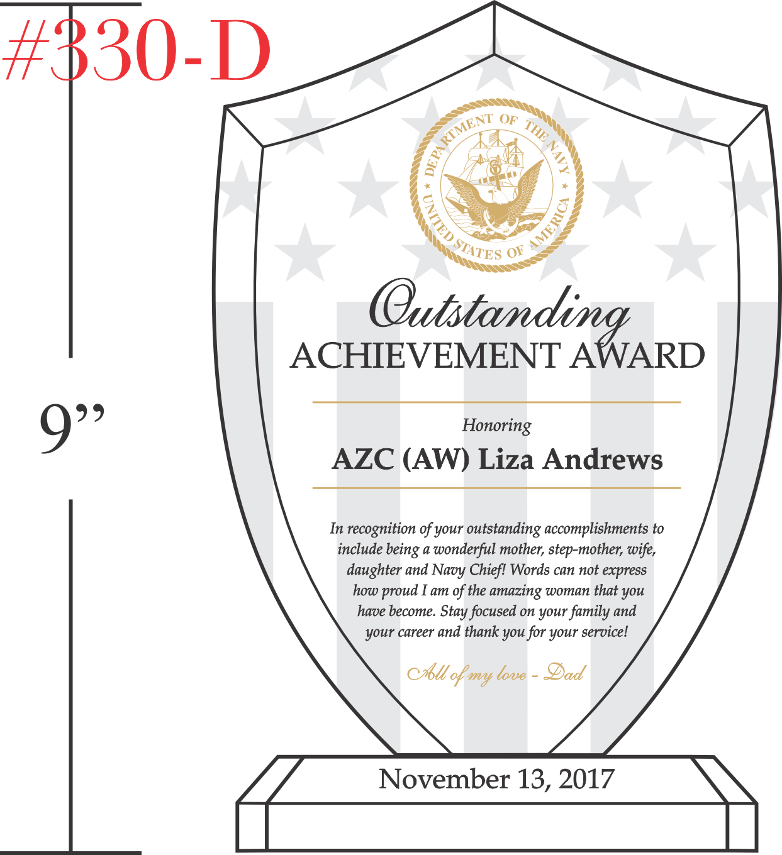 Navy Outstanding Achievement Gift