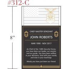 USAF Sergeant Appreciation Gift