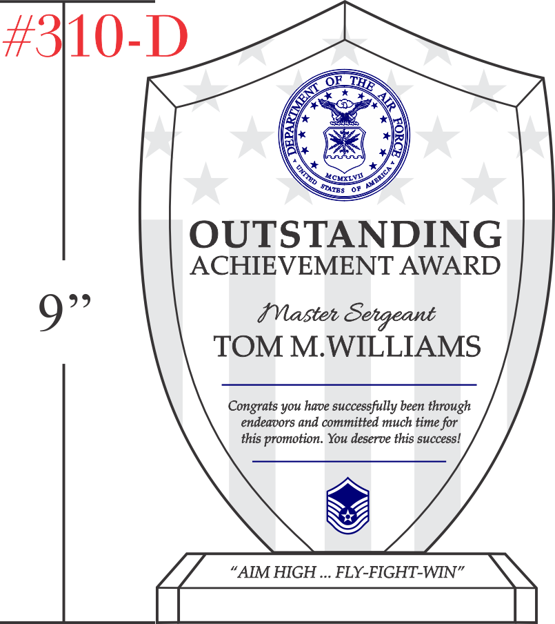 Airman Outstanding Achievement Gift