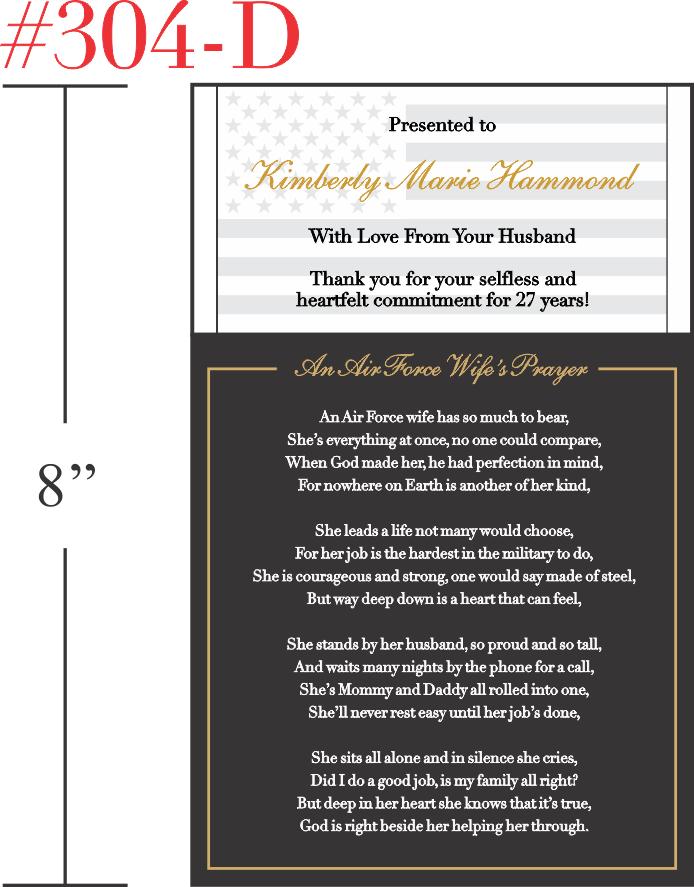 An Air Force Wife's Prayer