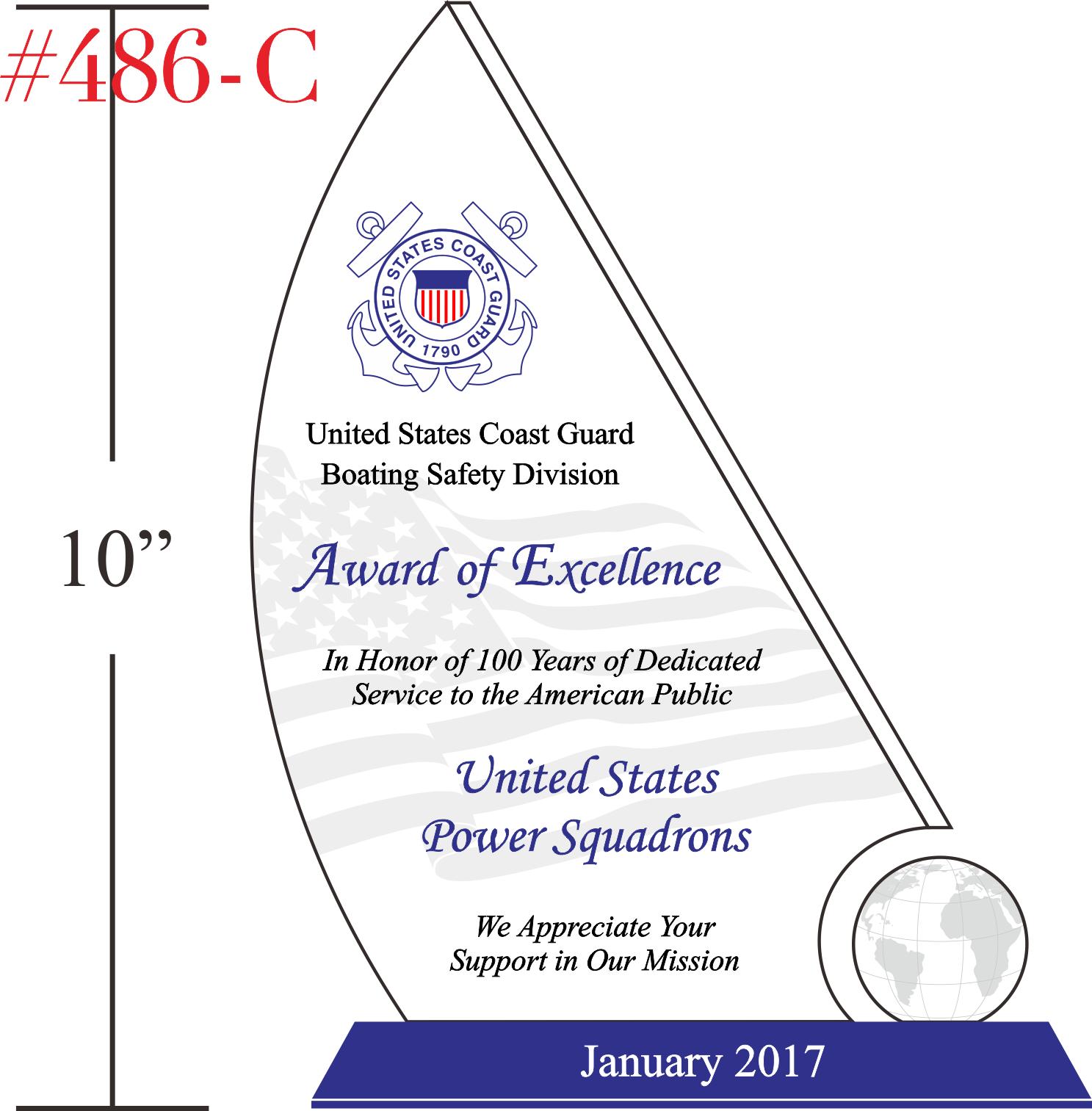 USCG Award of Excellence