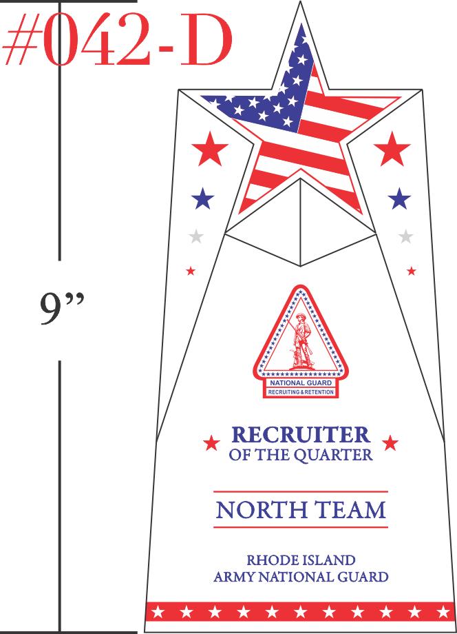 National Guard Recruiter of the Quarter