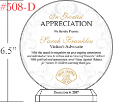 Victim's Advocate Appreciation Gift