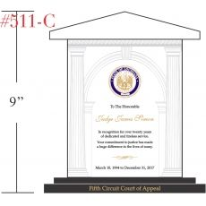 Court Judge Recognition Award