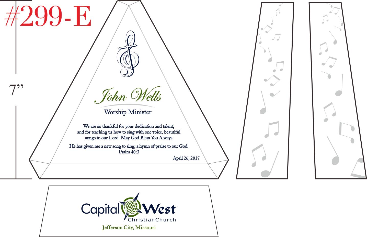 Worship Leader/Minister Appreciation Gift