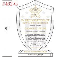 Sheriff's Deputy Appreciation Award